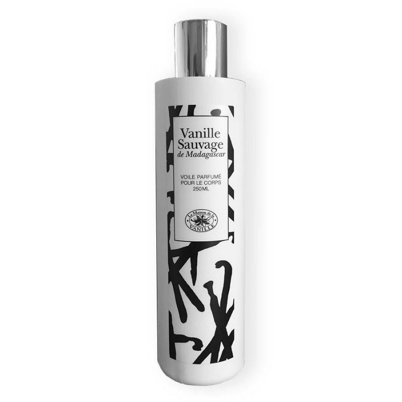 Vanille sauvage de Madagascar - Voile parfumé pour le corps 250ml