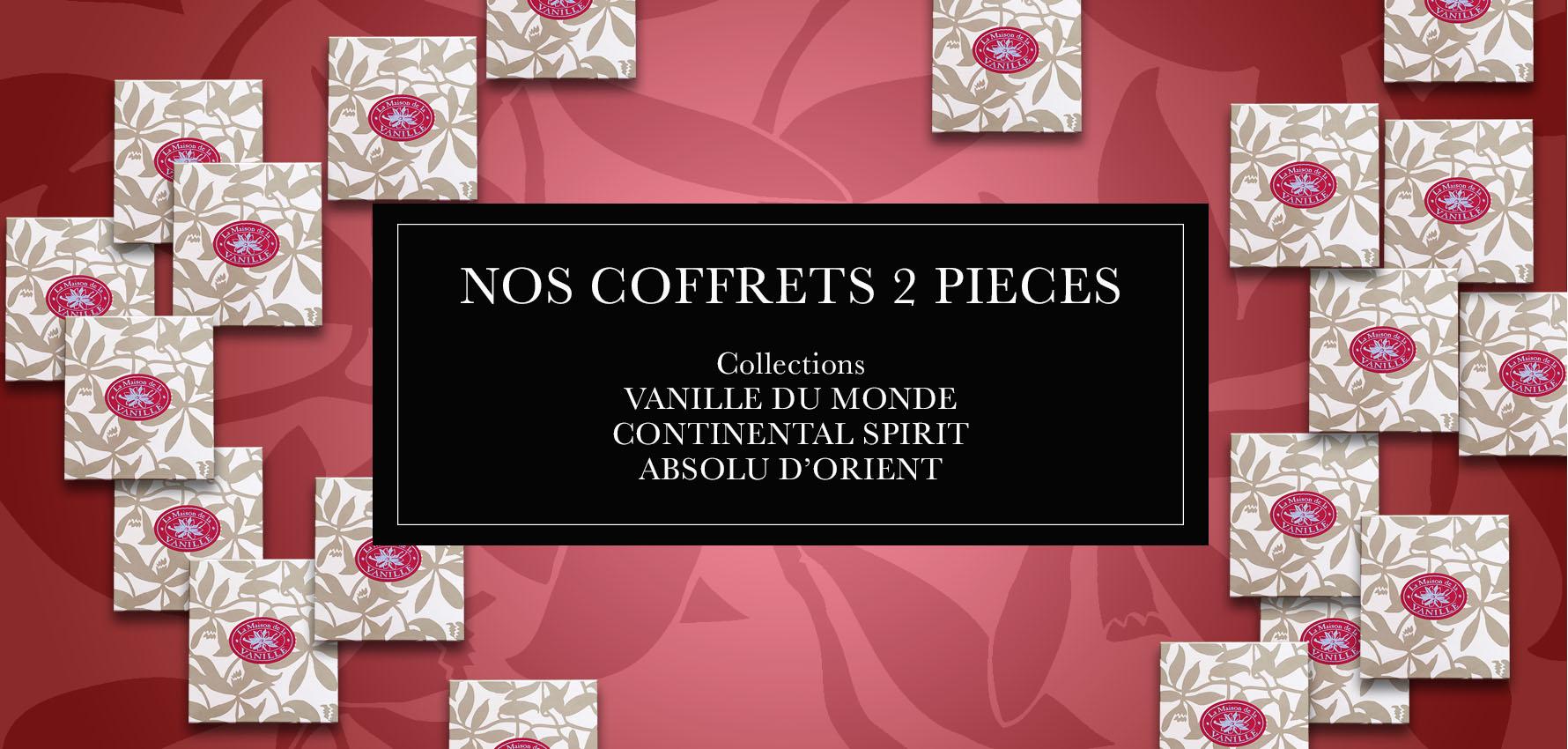 Coffrets 2 pièces Eau de Parfum + Lait corporel